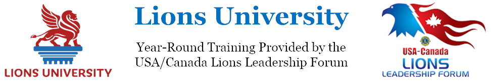 Lions University Logo and Link